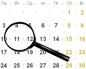 КалендарЛистопад2014