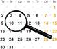 Збільшити КалендарЛипень2018